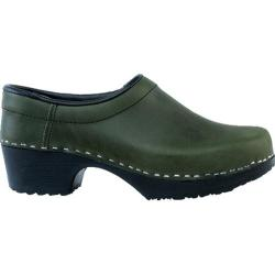 Women's Cape Clogs Hunter Hunter Green