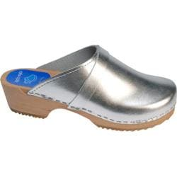 Cape Clogs Solids Silver