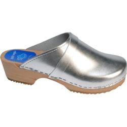 Cape Clogs Solids Silver