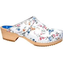 Cape Clogs Wild Flower White/Multi