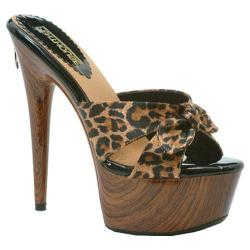 Women's Penthouse Cleo PH609 Leopard