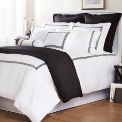 Barrato Cotton Sateen 300 Thread Count Pillowcases (Set of 2)