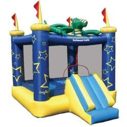 KidWise Draco The Magic Dragon Inflatable Bounce House 7959582