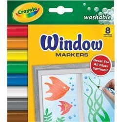 Crayola Crayola Washable Window Markers