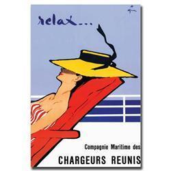 Relax By Rene Gruau Giclee Art Print