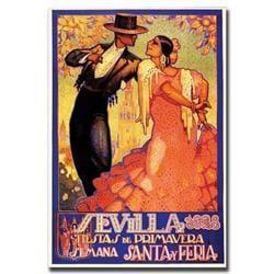 Sevilla Fiestas De Primavera By Da Pena-Gallery