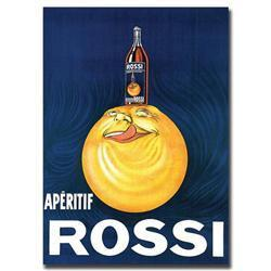 Aperitif Rossi-Gallery Wrapped 24X32 Canvas Art