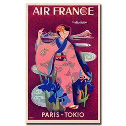 Air France Paris Tokyo By Taruchi-Gallery