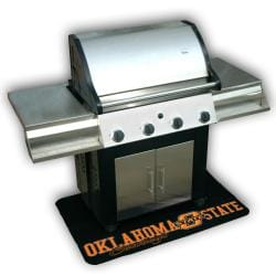 Oklahoma State Cowboys Vinyl Grill Mat 7982748