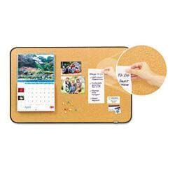 Post-it Sticky Cork Self-Stick Bulletin Board-
