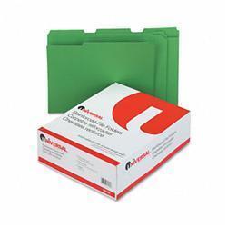 Universal Colored File Folders- 1/3 Cut