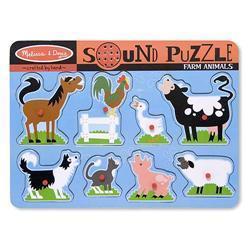 Melissa & Doug Farm Animals Sound Puzzle 7997199