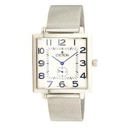 Croton Men's Classic All Steel Quartz Watch