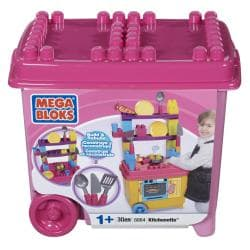 Mega Bloks Build'n Play Kichenette Toy Set 8091755