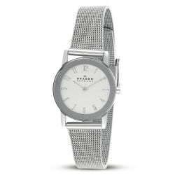 Womens Skagen Steel Ultra Slim Dress Watch 39SSSS