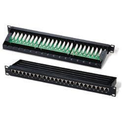 C2G 24-Port Cat5E Shielded High density Patch Panel