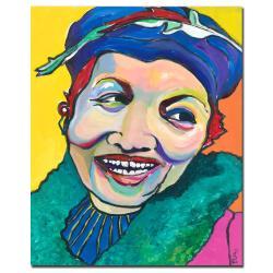 Pat Saunders-White 'Koko Vivienne' Canvas Art