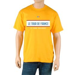 Le Tour de France Men's 'Vintage' Yellow Official T-Shirt