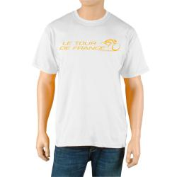 Le Tour de France Men's 'Race' White Official T-Shirt