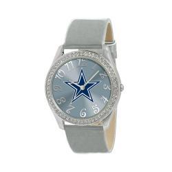 Dallas Cowboys Women's Glitz Classic Analog Patent Leather Watch