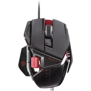 Mad Catz R.A.T. 5 Gaming Mouse for PC and Mac - Gloss Black