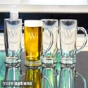 Personalized Craft Beer Mugs (Set of 4)