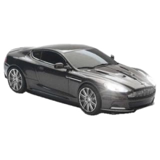Click Car Estand Aston Martin DBS Wireless Optical Mouse Quantum Silv