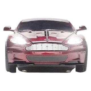 Click Car Estand Aston Martin DBS Wireless Optical Mouse -Magnum Red