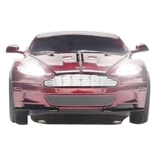 Click Car Estand Aston Martin DBS Wireless Optical Mouse -Magnum Red
