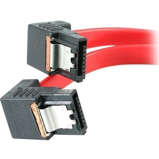 StarTech.com 18in Right Angle Latching SATA Serial ATA Cable