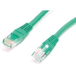 StarTech.com 1 ft Green Molded Cat5e UTP Patch Cable
