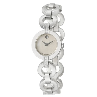 Movado Women's Stainless Steel 'Belamoda' Diamond Watch