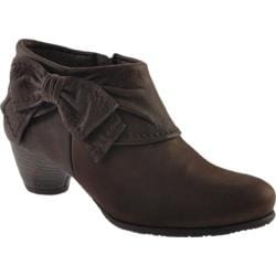 Women's Antia Shoes Abby Mocha Leather
