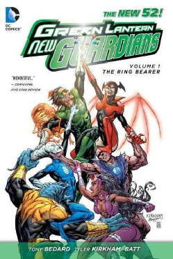 Green Lantern New Guardians 1: The Ring Bearer the New 52 (Paperback) 10430595