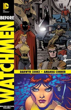 Before Watchmen Vol. 1: Minutemen/Silk Spectre Deluxe Edition (Hardcover) 10430606