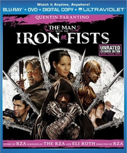 The Man With The Iron Fists (Blu-ray/DVD) 10459878