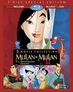 Mulan/Mulan II (Blu-ray/DVD) 10462533