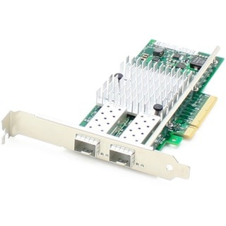 AddOn 10Gbs Dual Open SFP+ Port PCIe x8 Network Interface Card