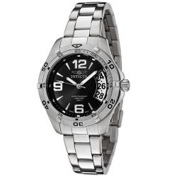 Invicta Women's Invicta II/ Sport Black Dial Stainless Steel Watch