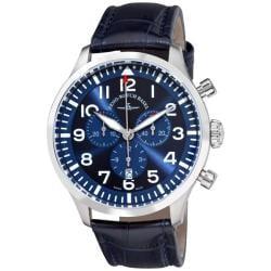 Zeno Men's 6569-5030Q-A4 'Navigator NG' Blue Strap Quartz Chronograph Watch