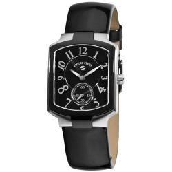 Philip Stein Women's Classic Black Leather Strap Watch