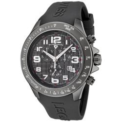 Swiss Legend Men's Eograph Dark Grey Silicone Chronograph Watch