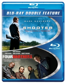 Shooter/Four Brothers (Blu-ray Disc) 10469705