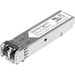 StarTech.com Cisco Compatible Gigabit Fiber SFP Transceiver Module MM