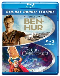 Ben-Hur/Ten Commandments (Blu-ray Disc) 10485485