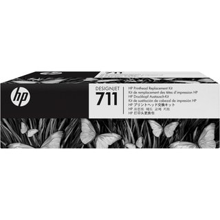 HP 711 Printhead - Pigment Black, Cyan, Magenta, Yellow