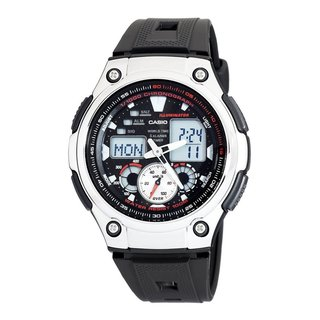 c105c1452 Casio Men's Steel Analog-digital Sport Watch (10496651 AQHKC190W1A) photo
