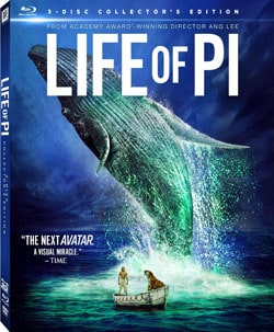 Life of Pi 3D (Collector's Edition) (Blu-ray/DVD) 10535756