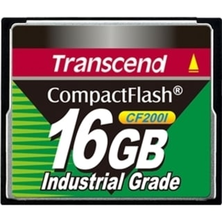 Transcend TS16GCF200I 16 GB CompactFlash (CF) Card