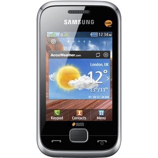 Samsung Champ Deluxe DUOS GSM Unlocked Dual SIM Cell Phone